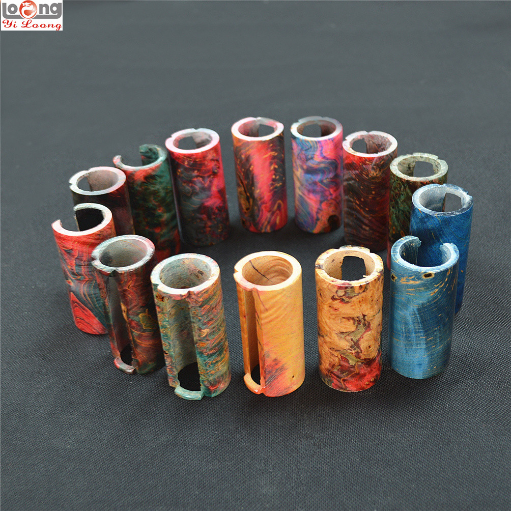 Stabilized Wood Tube