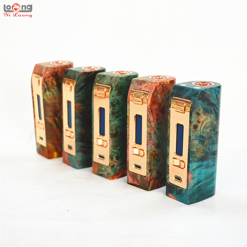18650DNA75 Stab Wood Mod